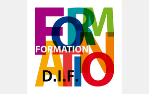 FORMATION D.I.F. 2019  *** ANNULEE ***